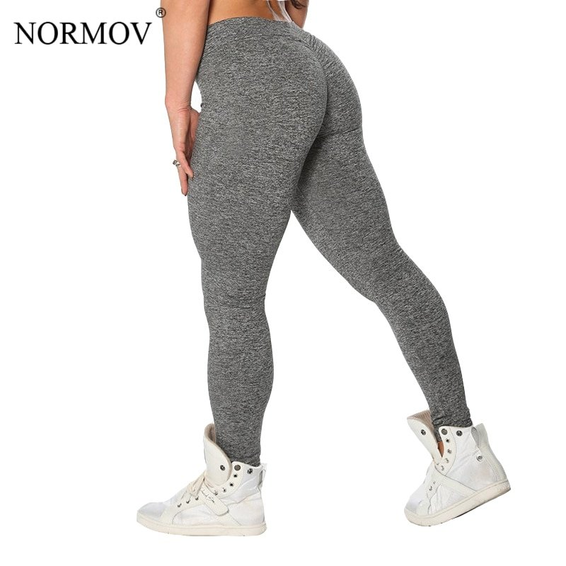 b14d87d5f0cb3 NORMOV Casual Push Up Women's Workout Jeggings - Folk's Go - Online ...